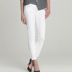 J. Crew Matchstick White Jeans Size 27 Short